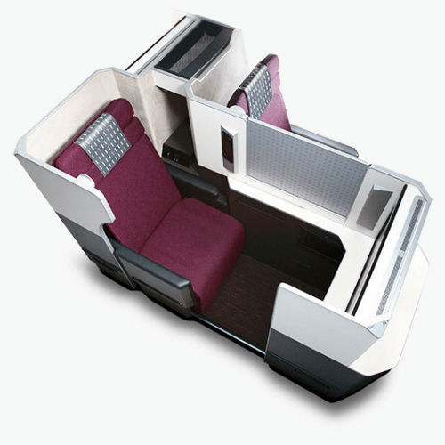 jal-japan-airlines-business-class-review-skysuite-bed-sleep-row