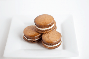 Root Beer Macarons