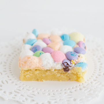 Simple Cake Mix Easter Bars