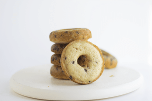 Baked Chocolate Chip Donuts