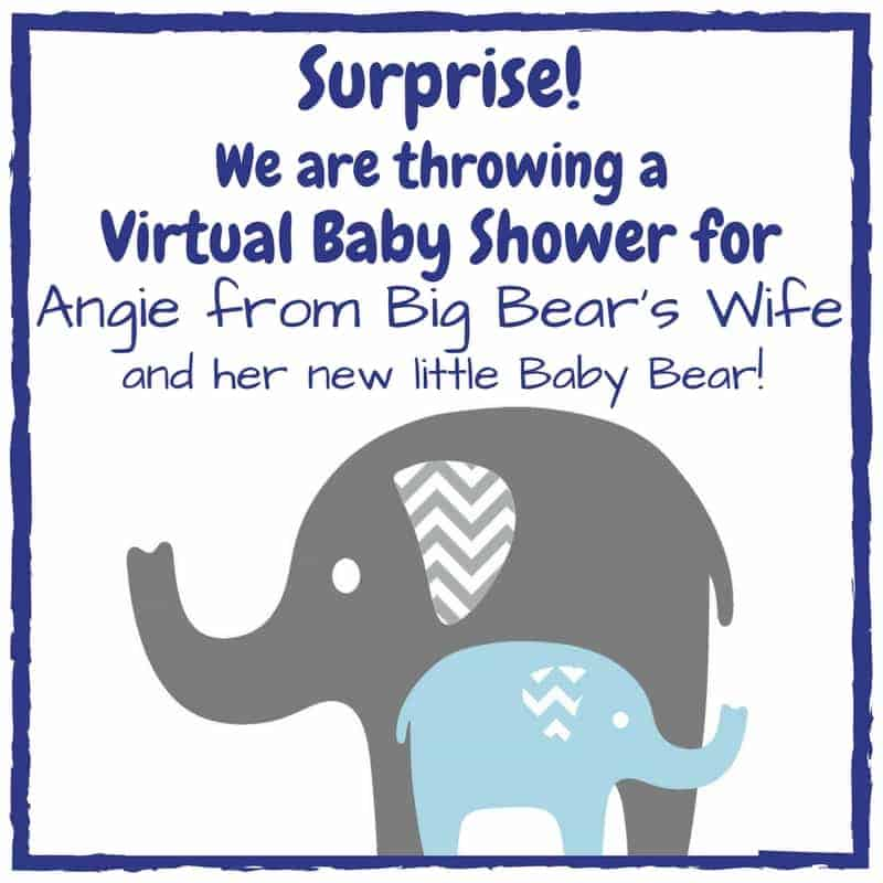 Virtual Baby Shower for Angie at Big Bear's Wife