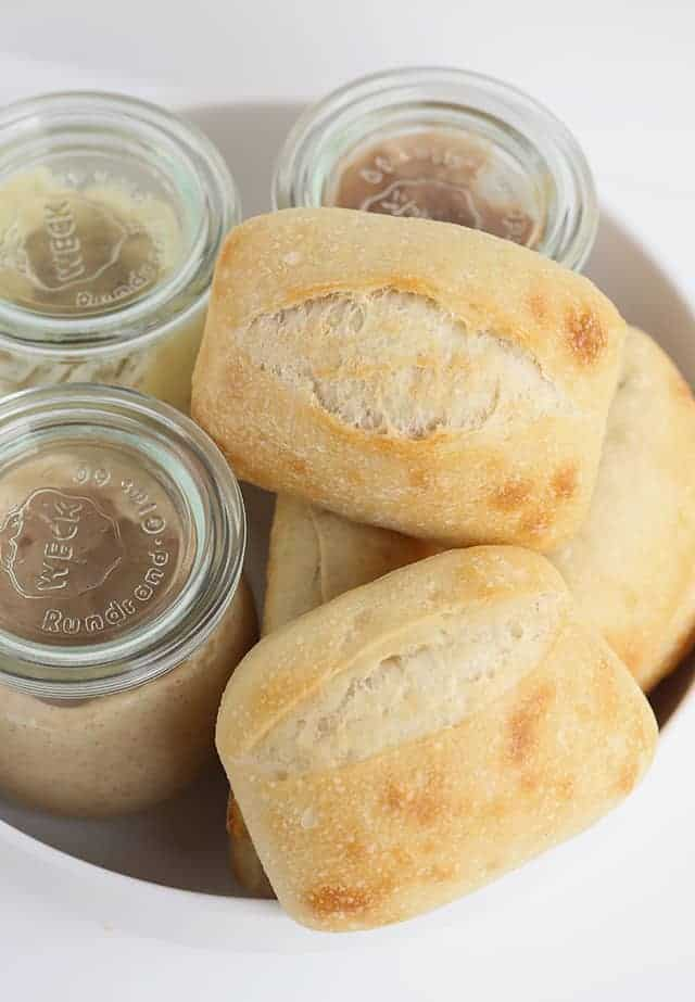 3 Sweet Compound Butter Recipes - Do you love sweet butter for your rolls? If you like cinnamon sugar, pumpkin spice, or maple pecan, I've made the butter for you! They seriously only take about 3 minutes to make too!