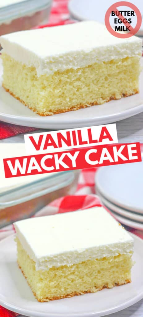 pinterest collage of cake photos with title in text