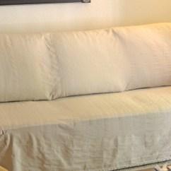 Sure Fit Stretch Pique 3 Piece T Cushion Sofa Slipcover Leather Trend 2017 Lexington ...