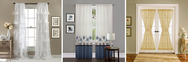 C11645q13 Velvet Dream Window Curtain Set Of 2 Lush Decor