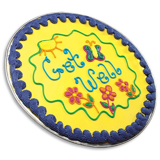Get Well Iced Cookie Cake