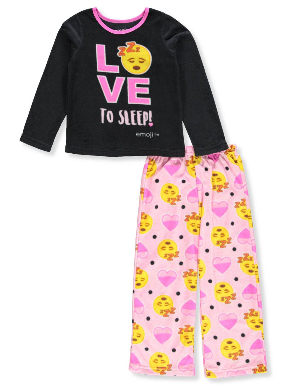 girls 2 piece pajamas