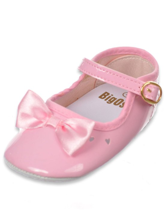 b18dd57d These Big Oshi Mary Janes are the perfect blend of comfort and cuteness.  Well-constructed PVC upper and sole, Velcro strap, heart punch pattern.