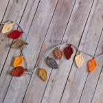 Fall Leaf Garland The Cookie Snob