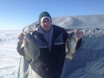 Portable and a couple crappies