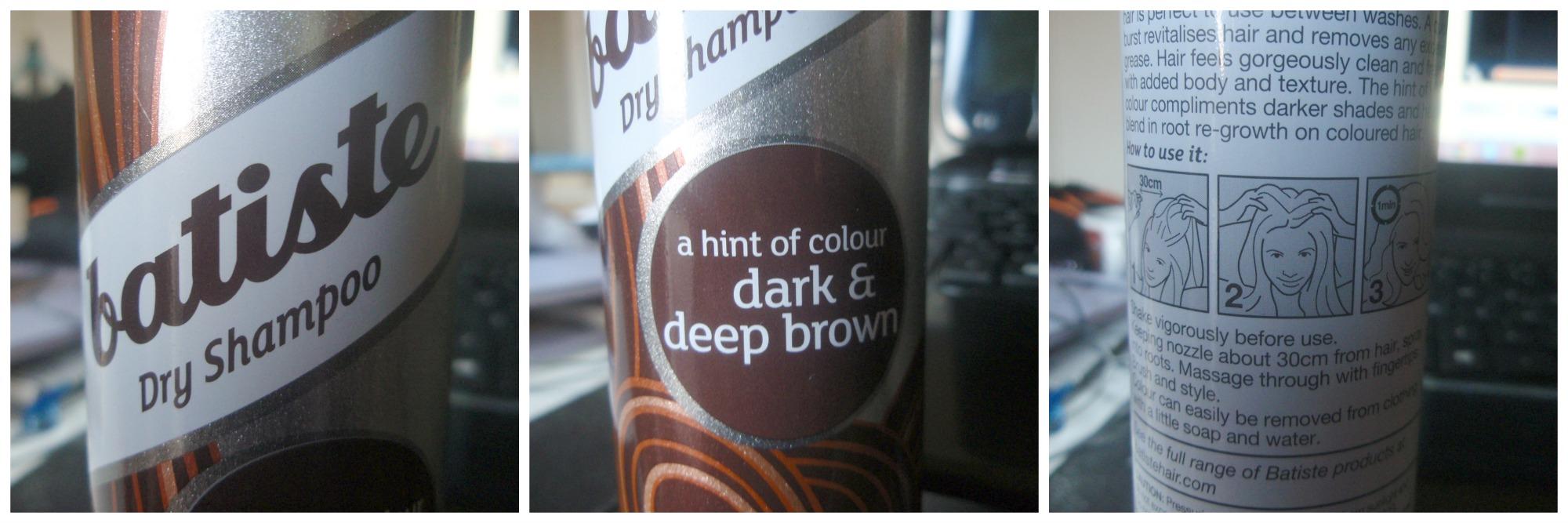 Review » Shampoo secco Batiste Dark & Deep Brown per ...