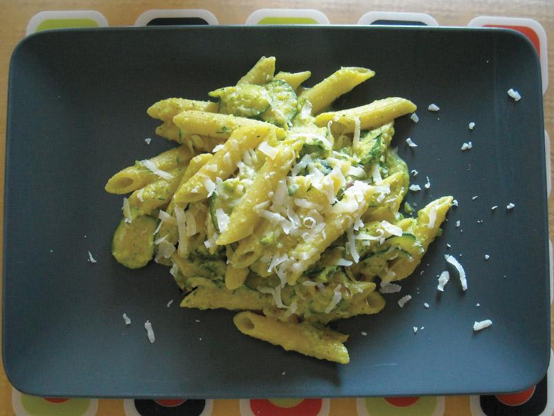 Penne alla crema di zucchine e zafferano  CookinAround