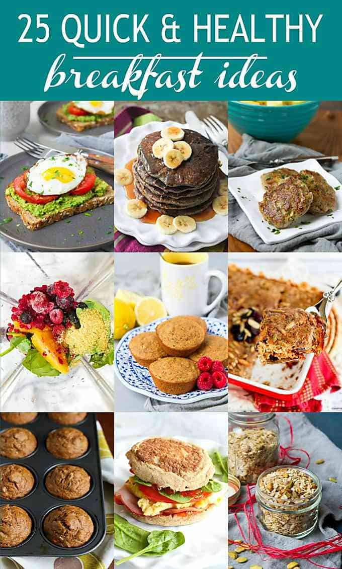 25 Quick & Healthy Breakfast Ideas - Cookin Canuck