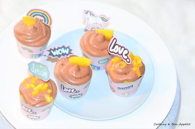 Cupcakechocomangue