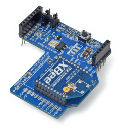 it was developed in collaboration with arduino this documentation describes the use of the shield with the xbee module  [ 900 x 900 Pixel ]