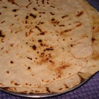 Making of Jonna Rotti (Jowar Roti)  ~ A video!