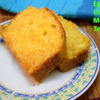 Eggless Carrot Mosambi Tea Cake