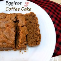 Eggless Coffee Cake Recipe
