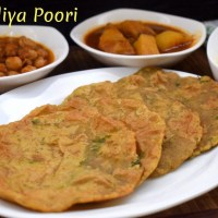 Choliya Poori ~ A to Z Indian Pooris