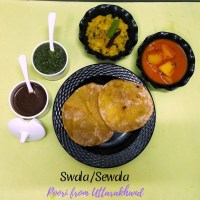 Swala or Sewala from Uttarakhand ~ A to Z Indian Pooris