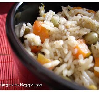 Simple Vegetable Rice Recipe – Vegetable Rice Recipe