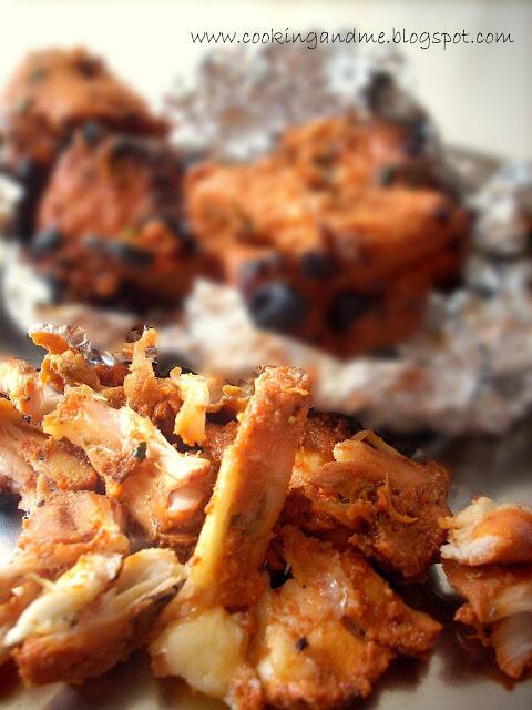 Tandoori Aloo Chicken | Tandoori Chicken with Potatoes Recipe