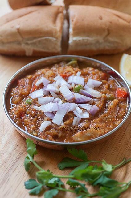 pav bhaji-easy pav bhaji recipe