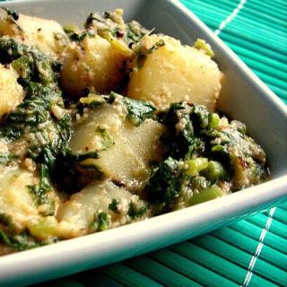 Aloo Palak Recipe | How to Make Aloo Palak