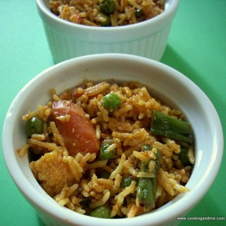 Vegetable Biryani Recipe / Vegetable Biriyani Recipe