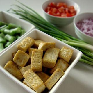 Stir-Fried Tofu With Beans Recipe – Stir-fried Tofu Recipe