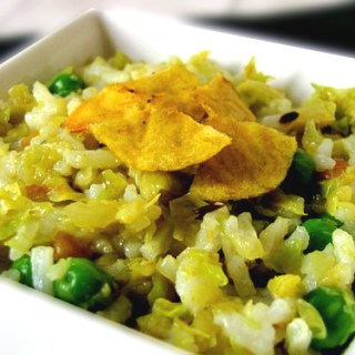 Cabbage Rice | Cabbage Rice Recipe (South Indian Rice Recipes)