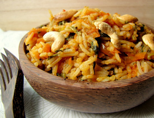 Tomato Spinach Pulao, Easy Pulao Recipe Step by Step