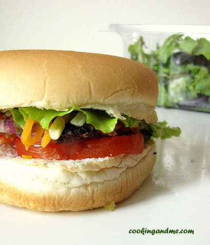 vegetable burger recipe, how to make vegetable burger at home