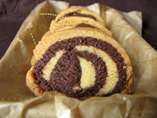 Spiral Cookies or Pinwheel Cookies Recipe, step by step