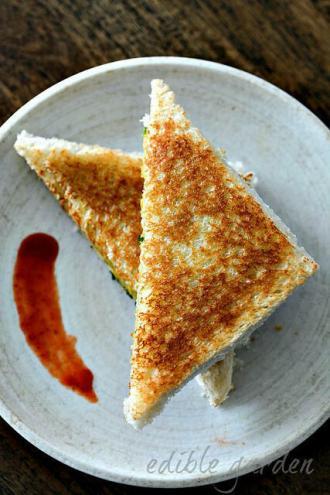 potato masala sandwich recipe