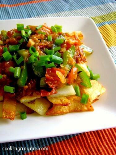 Sesame Heavenly Potatoes