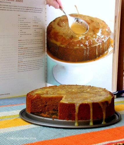 sticky date toffee cake