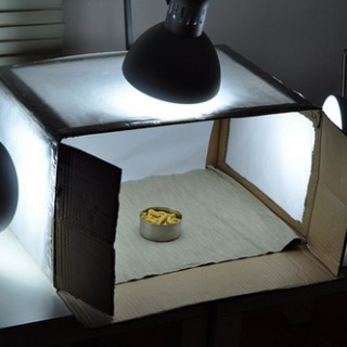 How to build a Light box for Food Photography