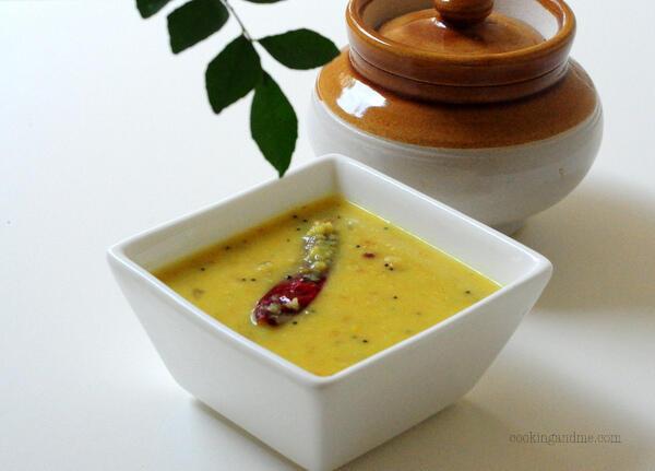 Kerala Parippu Curry-Parippu for Onam Sadya