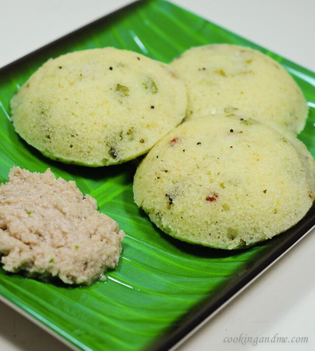 south indian rava idli recipe
