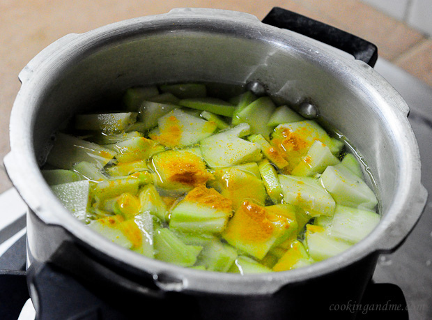 raw papapa stir fry / kaplanga mezhukkupuratti