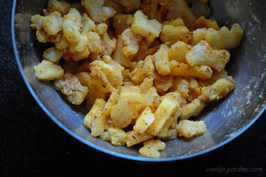 Bitter Gourd Fry Recipe, how to make Pavakkai Fry