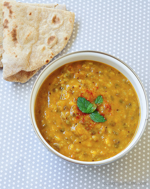 dal panchratan / five lentils recipe