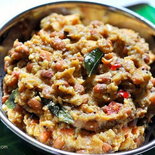 Chena Vanpayar Erissery Recipe-Onam Sadya Recipes