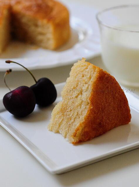 Eggless sponge cake recipe, eggless vanilla sponge cake