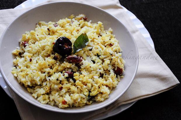 Raw Mango Rice | Mangai Sadam | Mamidikaya Annam