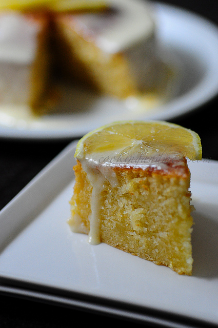 Lemon Diva Cake with Lemon Frosting (Eggless Option Included)