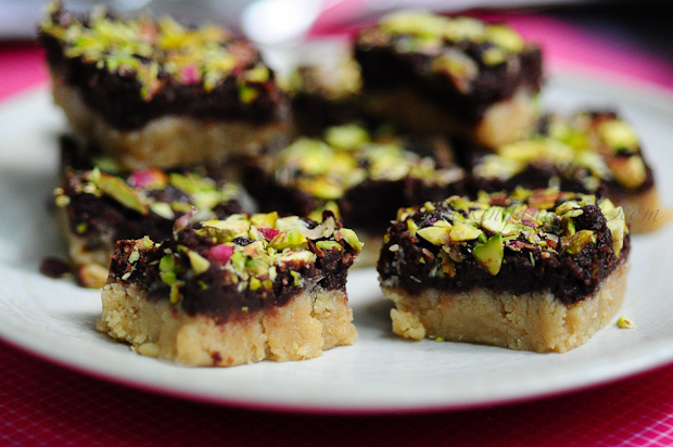 Chocolate Khoya Kalakand-Diwali Sweets