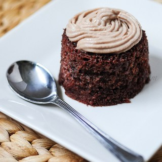 Eggless Steamed Chocolate Cake, No-Oven No-Bake