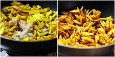 Chakkakuru Mezhukkupuratti-Roasted Jackfruit Seeds (Kerala-Style)